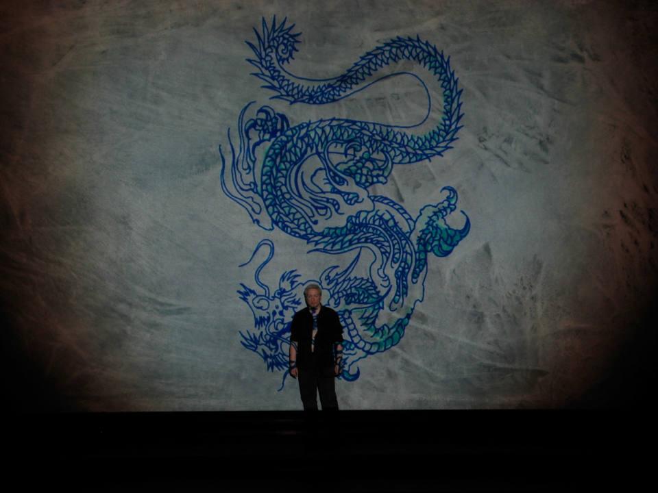 Dragon Bleu Animal le dragon bleu - david leclerc