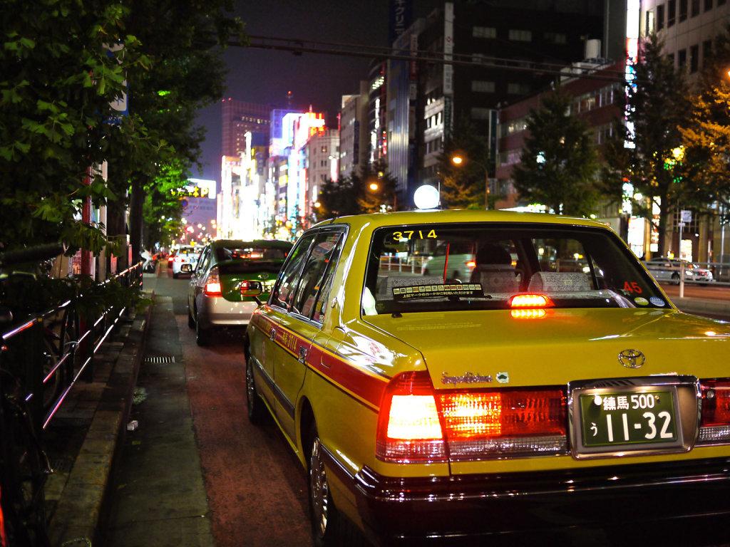 Tokyo Taxi in Shinjuku